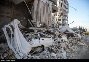 Des images de la province iranienne de Kermanshah, frontalière de l'Irak touchée par le violent séisme qui a fait plus de 300 morts et des milliers de victimes5