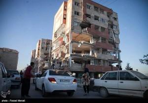 Des images de la province iranienne de Kermanshah, frontalière de l'Irak touchée par le violent séisme qui a fait plus de 300 morts et des milliers de victimes6