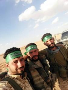 Le général iranien Qassem Soleimani actuellement à la frontière Syro-Irakienne avec les combattants syriens et irakiens... 2