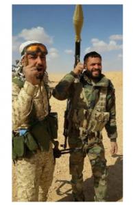 Le général iranien Qassem Soleimani actuellement à la frontière Syro-Irakienne avec les combattants syriens et irakiens... 3