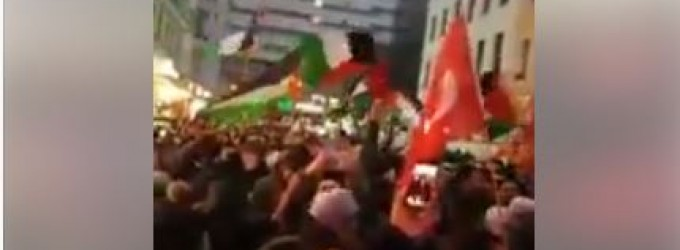 Grande marche à Berlin, les Allemands protestent et rejettent la décision de Trump de «reconnaître» Jérusalem, Palestine comme capitale d'Israël