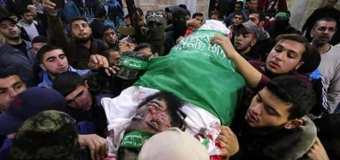 Les martyrs palestiniens