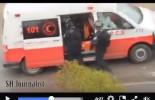Les soldats de l'occupation israélienne ont été pris en flagrant délit en train d'agresser et kidnapper 2 jeunes filles palestiniennes d'une ambulance du croissant-rouge pendant les affrontements à Al Khalil (Hébron)