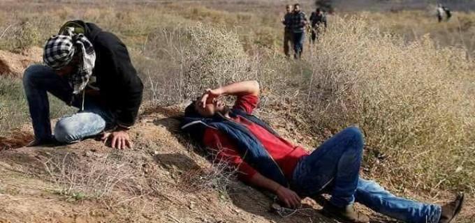 Mahmoud Almasri, âgé de 30 ans, a été tué et des dizaines d'autres ont été blessées par des balles israéliennes