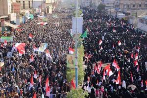 Quelques images de la manifestation monstre dans la capitale yéménite Sanaa1
