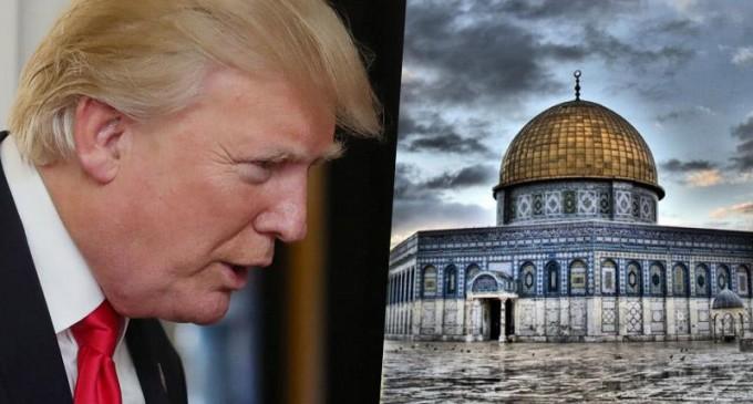URGENT URGENT : Trump reconnaît officiellement Jérusalem, capitale de l'occupant israélien !!!