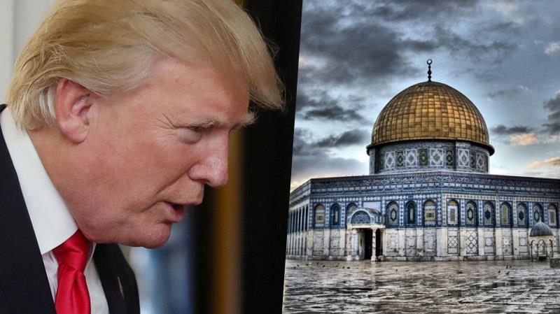URGENT URGENT Trump reconnaît officiellement Jérusalem, capitale de l'occupant israélien !!!