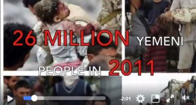 Un génocide se déroule actuellement au Yémen !!!