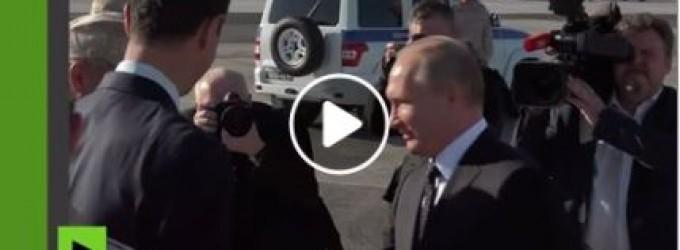 Vladimir Poutine se rend en Syrie pour rencontrer Bachar Al Assad et les soldats russes