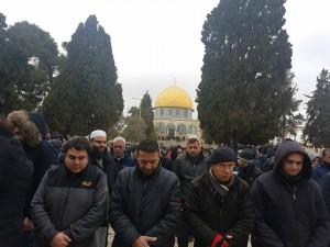 25 000 fidèles accomplissent la Prière du Vendredi dans la mosquée d'Al-Aqsa à Jérusalem occupée1