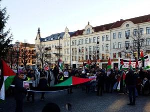 Hier Malmö en Suède - Manifestation en soutien à la Palestine1
