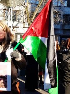 Hier Malmö en Suède - Manifestation en soutien à la Palestine3