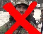 L'Armée Arabe Syrienne a abattue le commandant terroriste