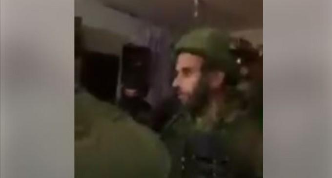 L'obsession des occupants israéliens, lourdement armés contre la famille Tamimi continue