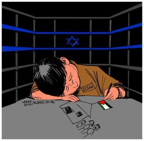 Plus de 300 mineurs palestiniens ont commencé leur nouvel an derrière les barreaux des prisons israéliennes. Tout ce qu'ils demandent, c'est la liberté !