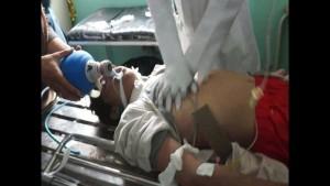 la coalition arabo us tue 3 enfants 1