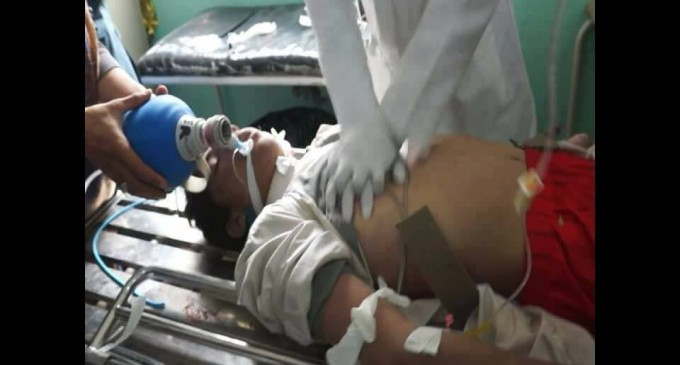 LA COALITION ARABO-US TUE 3 ENFANTS YEMENITES