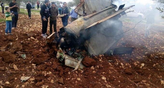La première vidéo de l'épave du F-16 israélien, qui a été abattu par la Syrie