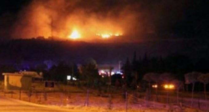 La défense syrienne a fait face à une nouvelle agression israélienne cette nuit près de Damas