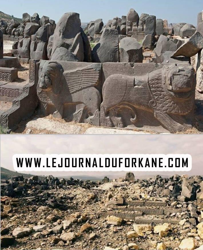 L'armée turque détruit un temple vieux de 3000 ans...