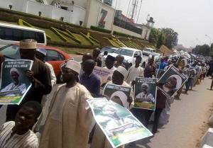 Les musulmans nigérians poursuivent les manifestations pacifiques, exigeant la libération de Sheikh Zakzaky2