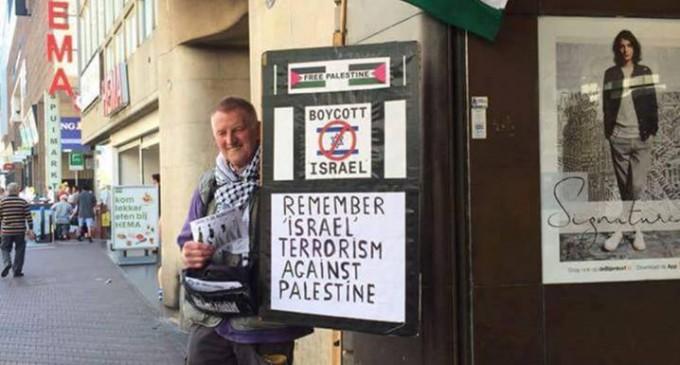Un Héros dénonçant les crimes commis contre le peuple palestinien par le régime israélien