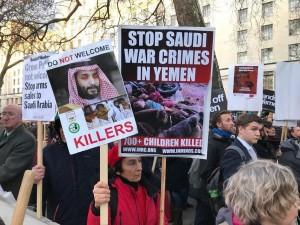 Les Britanniques déclarent la guerre contre Ben Salman au cœur de Londres !4
