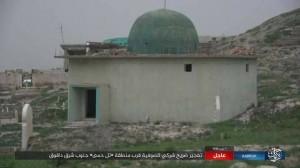 Les terroristes de Daesh détruisent le mausolée d'un saint soufi dans le sud de Kirkouk 1
