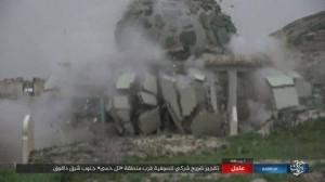 Les terroristes de Daesh détruisent le mausolée d'un saint soufi dans le sud de Kirkouk 2