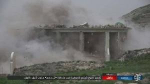 Les terroristes de Daesh détruisent le mausolée d'un saint soufi dans le sud de Kirkouk 3