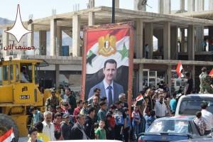 Damas aujourd'hui en soutien à l'Armée Arabe Syrienne contre l'agression étrangère4