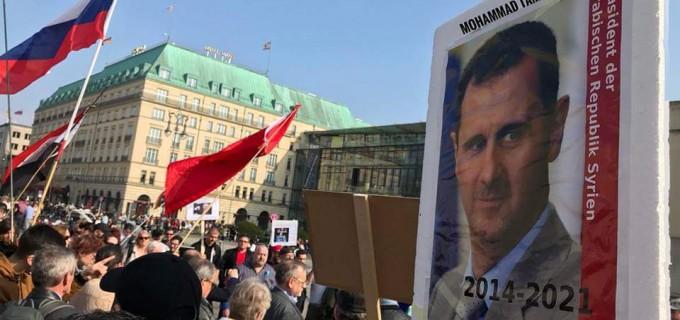 En solidarité avec la Syrie de Berlin