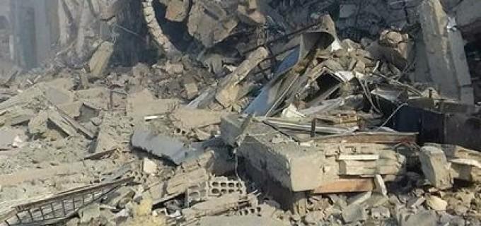 Les 1ères photos de l'installation de recherche scientifique de Barzah détruite par des frappes de missiles de croisière Us, GB et français
