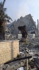 Les 1ères photos de l'installation de recherche scientifique de Barzah détruite par des frappes de missiles de croisière Us, GB et français2