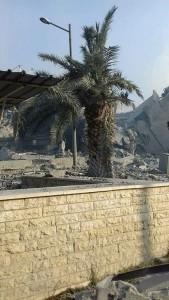 Les 1ères photos de l'installation de recherche scientifique de Barzah détruite par des frappes de missiles de croisière Us, GB et français3