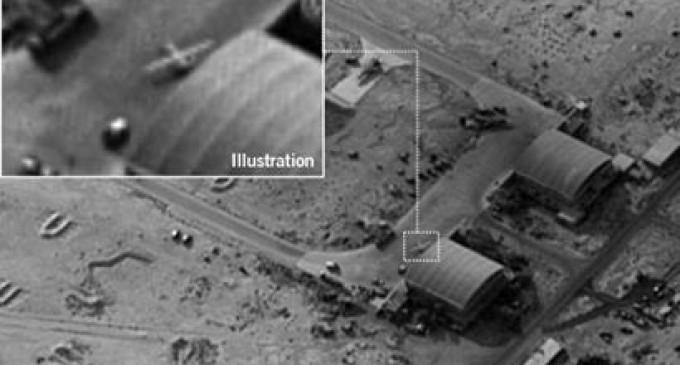 URGENT – La base aérienne de Tiyas (T-4) en Syrie a été bombardée ce lundi 9 avril par des avions israéliens