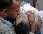 Le Bébé Palestinien de 8 mois «Leila Ghandour» est décédée en inhalant des gaz lacrymogènes lancés par les forces d'occupations israéliennes..!