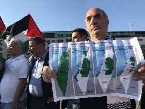 Une manifestation à Wuppertaler, en Allemagne, en condamnation du massacre israélien 2