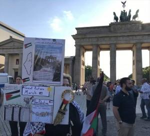 Une manifestation à Wuppertaler, en Allemagne, en condamnation du massacre israélien 3