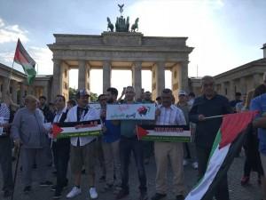 Une manifestation à Wuppertaler, en Allemagne, en condamnation du massacre israélien 4