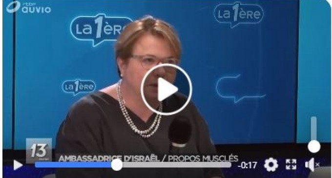 Simona Frankel, ambassadeur d'Israël en Belgique: «Les 55 morts de la bande de Gaza étaient tous des terroristes»