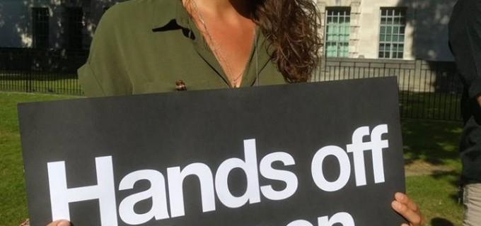Des gens de tout le Royaume-Uni ont protesté contre le soutien du Royaume-Uni à l'attaque saoudienne sur Al Hodeidah au Yémen.