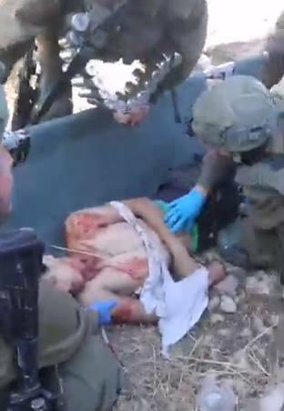 Des soldats israéliens ont tiré, et grièvement blessé, un adolescent palestinien1