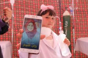Israël a tué Razan Alnajjar, il y a eu 100 palestiniennes pour prendre sa place2