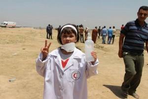 Israël a tué Razan Alnajjar, il y a eu 100 palestiniennes pour prendre sa place4