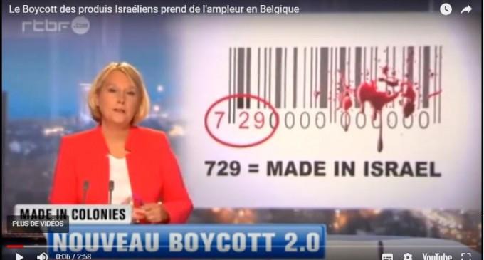 Le Boycott des produis Israéliens prend de l'ampleur en Belgique