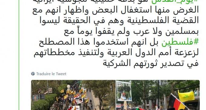 Point de vue d'un salafiste-wahhabite sur la Journée Mondiale d'Al Qods…