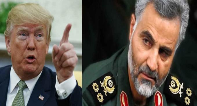 Le général iranien Qassem Soleimani remet en place Donald Trump