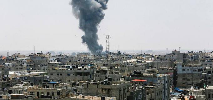 Les avions de chasse israéliens mènent depuis hier samedi une série de frappes aériennes sur la bande de Gaza