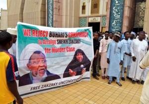 Les manifestants nigérians à Abuja appellent à la libération de l'éminent clerc Sheikh Zakzaky2